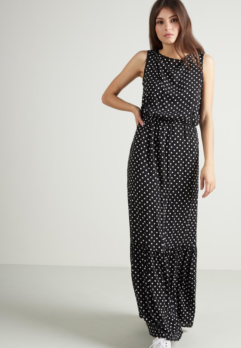 Tezenis - Maxi dress - nero st.pois
