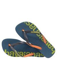 Havaianas - TOP LOGOMANIA HIGHTECH - Pool shoes - blue, green - 4