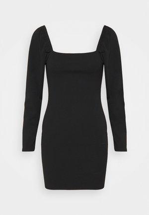 MILKMAID MINI DRESS - Koktejlové šaty/ šaty na párty - black