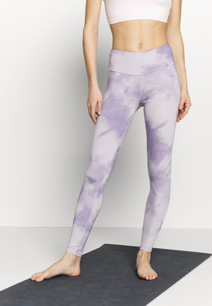 LEGGINGS TIE DYE - Medias - purple
