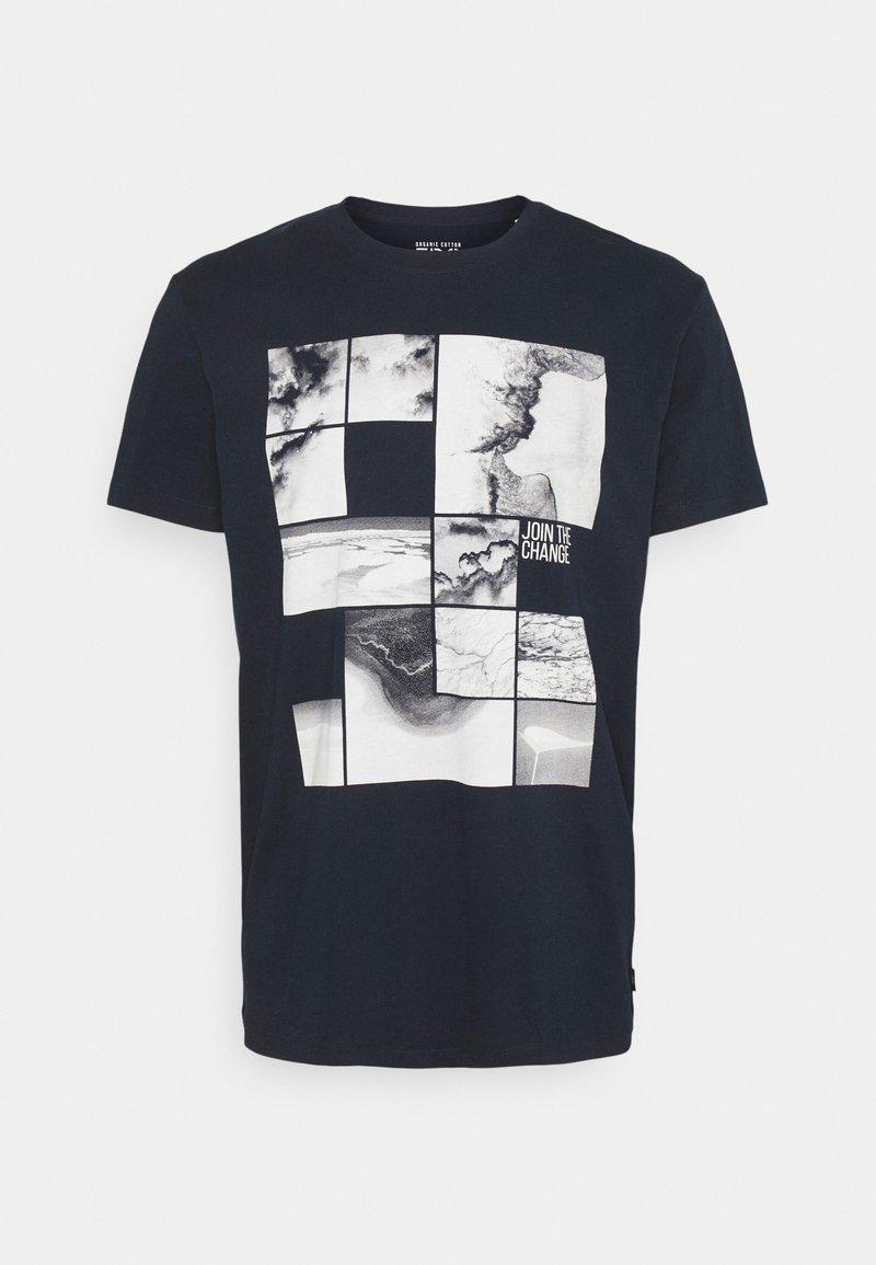 Esprit - T-shirt med print - navy