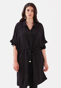 Fiorella Rubino - Shirt dress - nero - 0