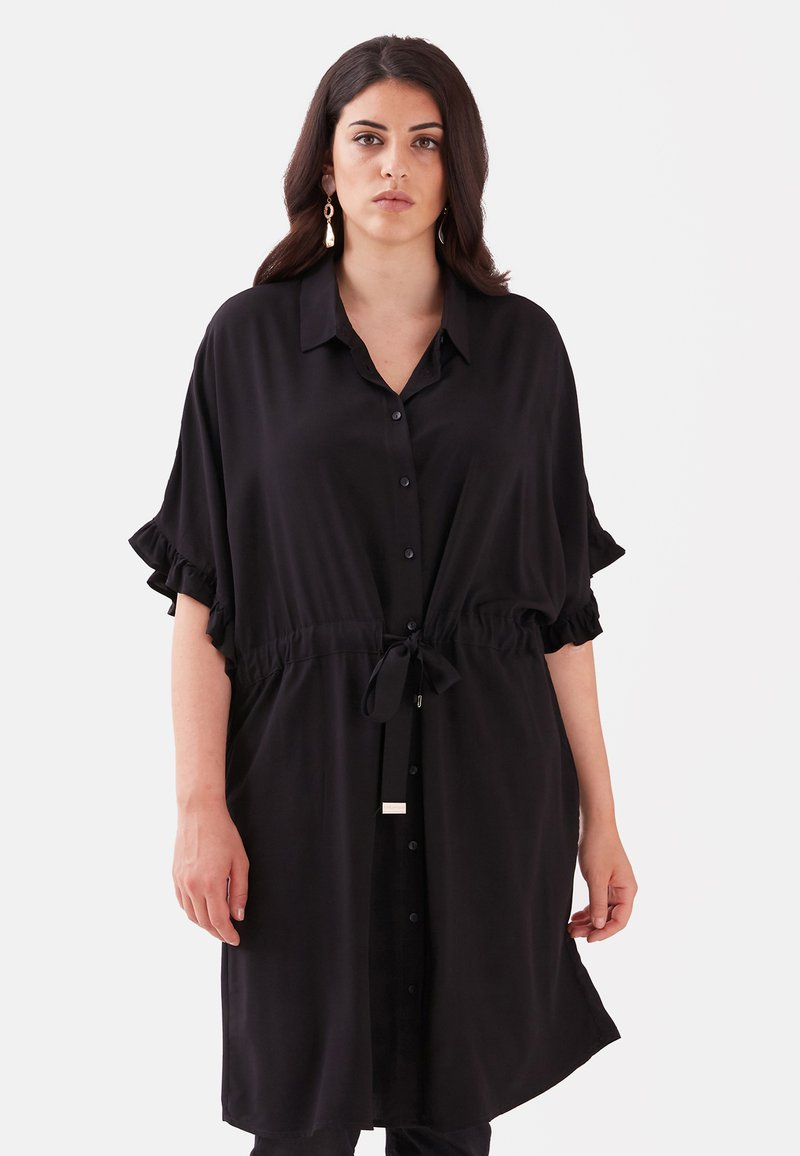Fiorella Rubino - Shirt dress - nero