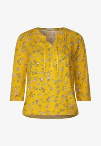 Cecil - MIT BLUMENPRINT  - Blouse - yellow - 4