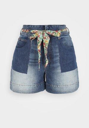 Jeans Shorts - bleu
