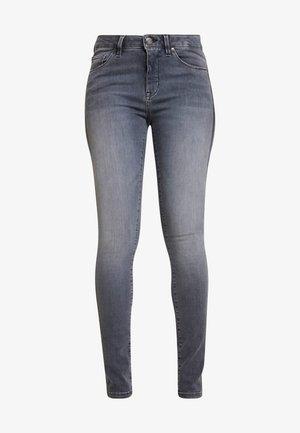 ELMA GLITTER STRIPE - Jeans slim fit - grey washed