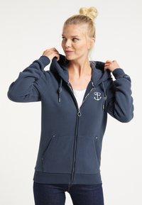 DreiMaster - Zip-up hoodie - marine - 0