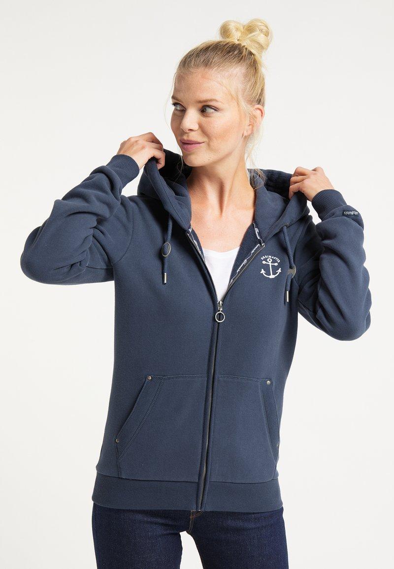 DreiMaster - Zip-up hoodie - marine