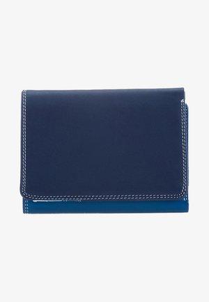 MEDIUM TRI FOLD - Portemonnee - mottled dark blue