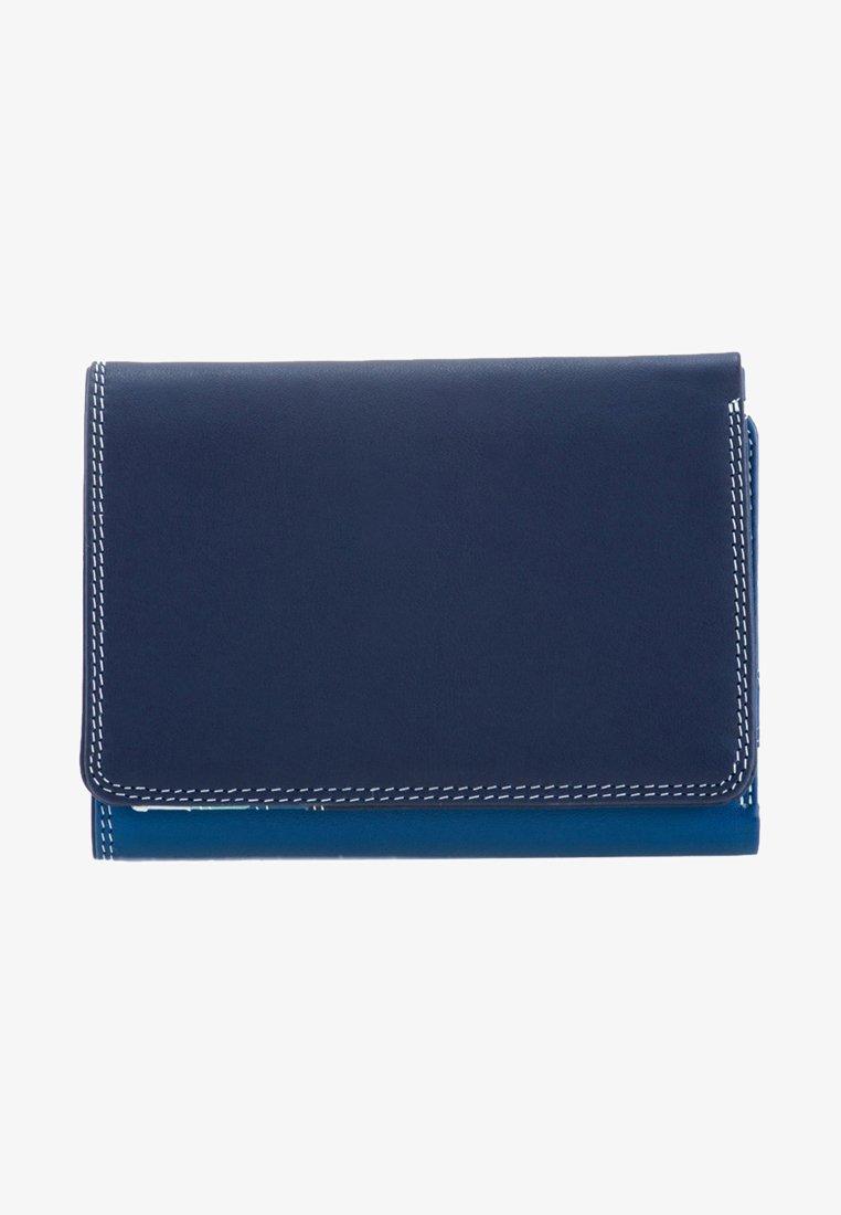 Mywalit - MEDIUM TRI FOLD - Wallet - mottled dark blue