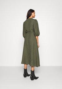 Minimum - ELMINA - Day dress - dark olive - 2