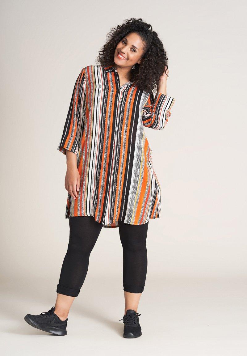 Studio - EMILIE - Button-down blouse - orange striped