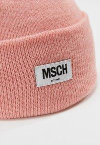 Moss Copenhagen - MOJO BEANIE - Muts - quartz pink - 3