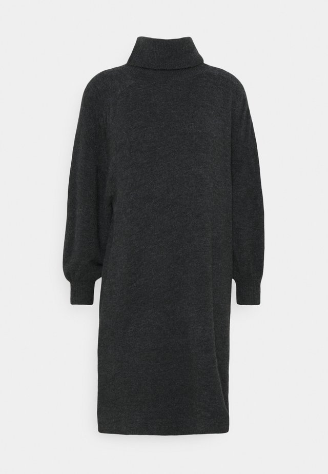 WEWA - Sukienka dzianinowa - slate grey melange