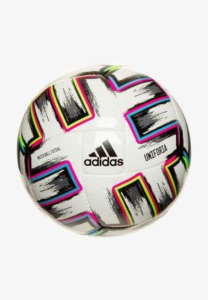 Voetbal - white / black / signal green / bright cyan