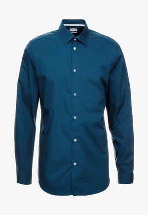 Finskjorte - teal blue