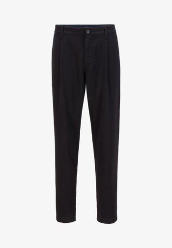 SAMSON - Trousers - black
