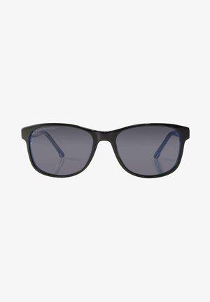 WAYFARER  - Sunglasses - black-white-blue