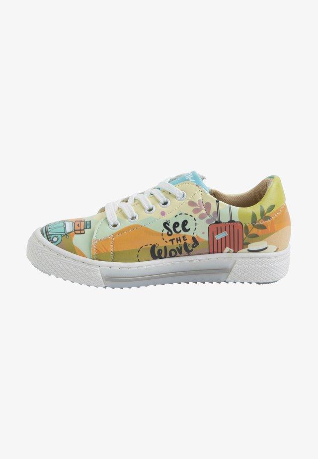 BEETLE CAR - Sneakers laag - multicolor