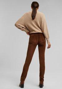 Esprit - FASHION  - Trousers - brown - 3