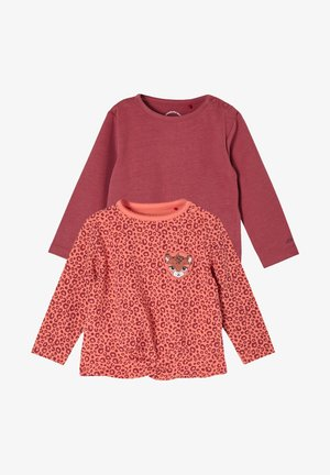 2PACK manches longues - Longsleeve - pink/pink placed print