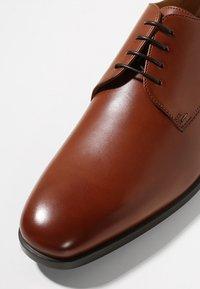 BOSS - KENSINGTON - Business-Schnürer - medium brown - 5