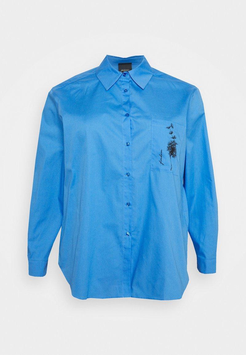Persona by Marina Rinaldi - BIG - Button-down blouse - bluette