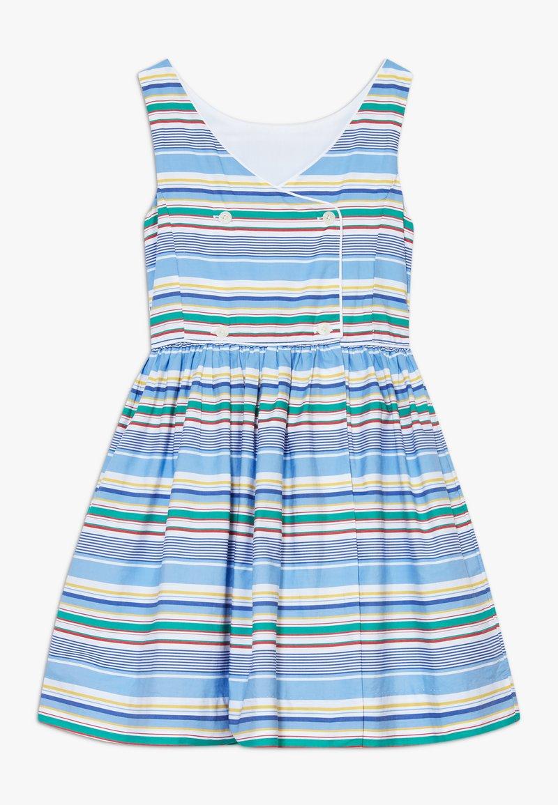 Polo Ralph Lauren - BUTTON  DRESSES - Denní šaty - blue