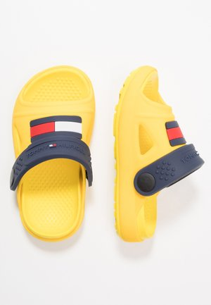 Pool slides - yellow