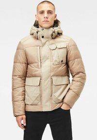 G-Star - UTILITY POCKET PUFFER - Winter jacket - lt rock - 0