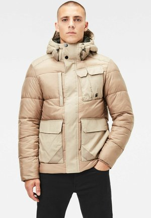 UTILITY POCKET PUFFER - Winterjas - lt rock