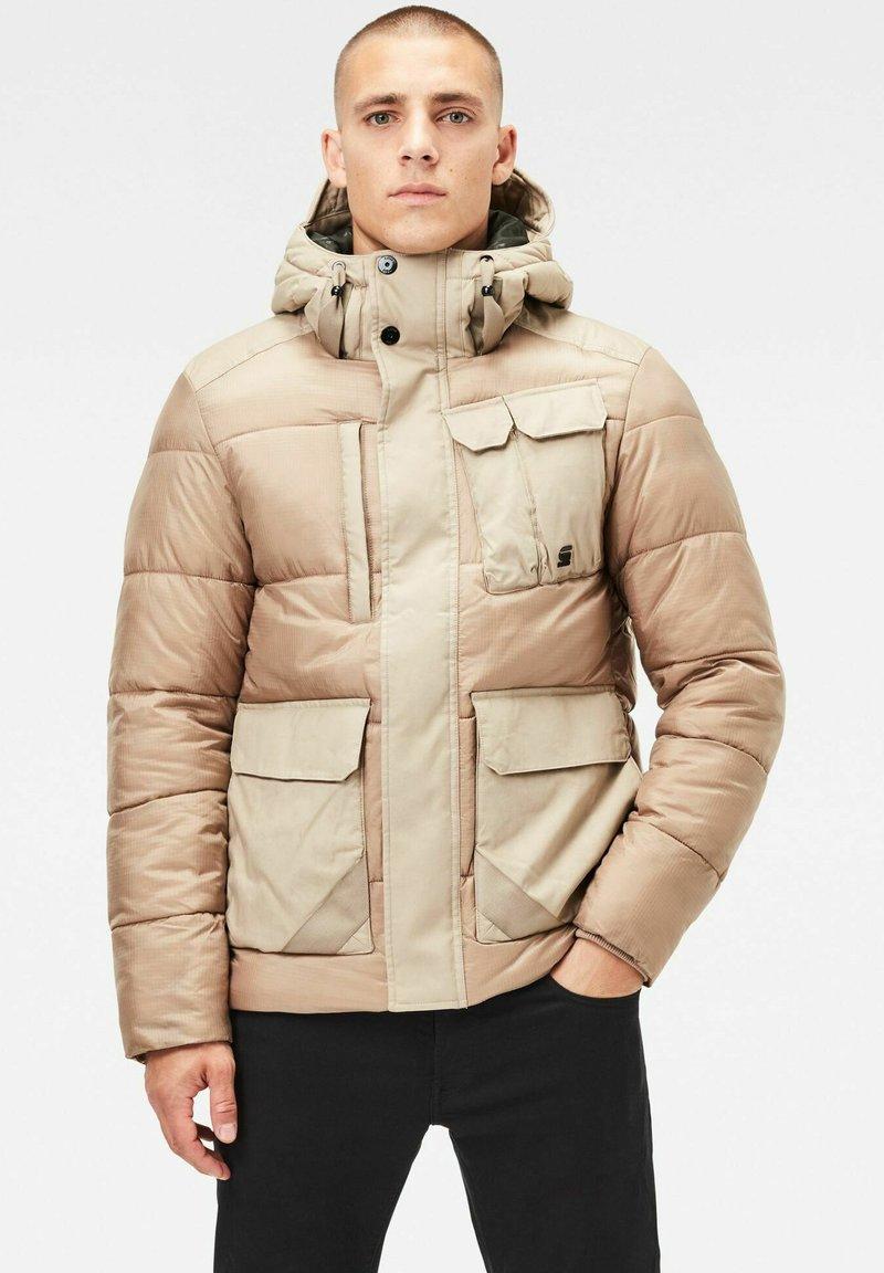 G-Star - UTILITY POCKET PUFFER - Winter jacket - lt rock
