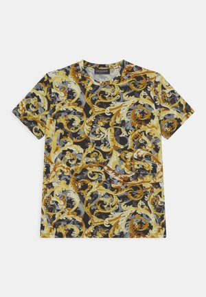 BAROCCO FLAGE UNISEX - T-shirt print - nero/oro