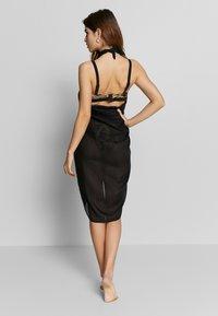 LASCANA - PAREO - Wrap skirt - schwarz - 2