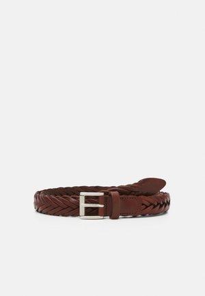 UNISEX - Pletený pásek - brown