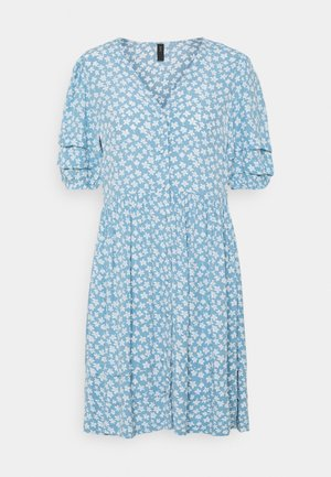 YASLURA DRESS - Vestido camisero - dusk blue