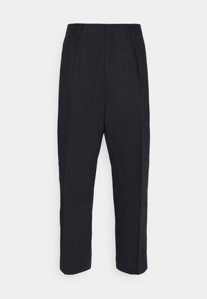 GENTS FORMAL TROUSER - Spodnie materiałowe - navy