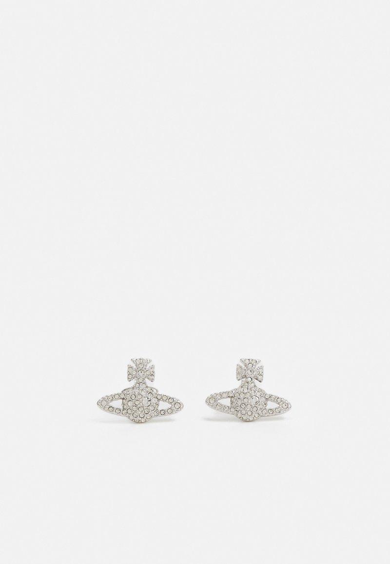 Vivienne Westwood - GRACE BAS RELIEF STUD EARRINGS - Earrings - silver-coloured