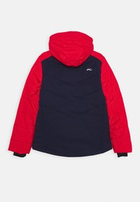 Kjus - BOYS DOWNFORCE JACKET - Ski jacket - atlanta/scarlet - 1