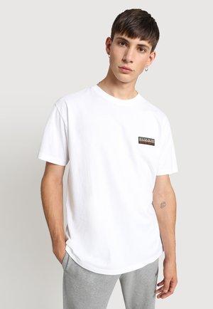 S-PATCH - Camiseta básica - bright white
