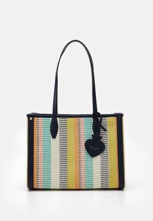 MARKET STRIPE MEDIUM TOTE - Handbag - multi