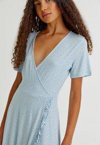 PULL&BEAR - Day dress - light blue - 7