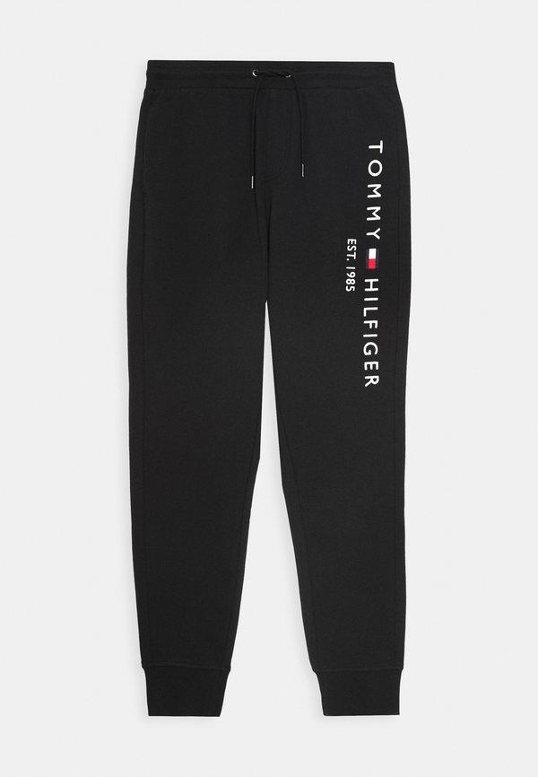 Tommy Hilfiger Spodnie treningowe - black/czarny Odzież Męska GFET