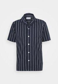 Lindbergh - STRIPED RESORT  - Shirt - dark blue - 5