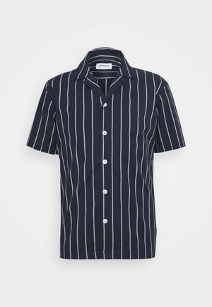 STRIPED RESORT  - Shirt - dark blue