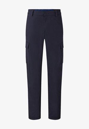 CARLO - Cargo trousers - navy-blau
