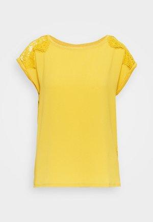 BIMAT - Jednoduché triko - yellow