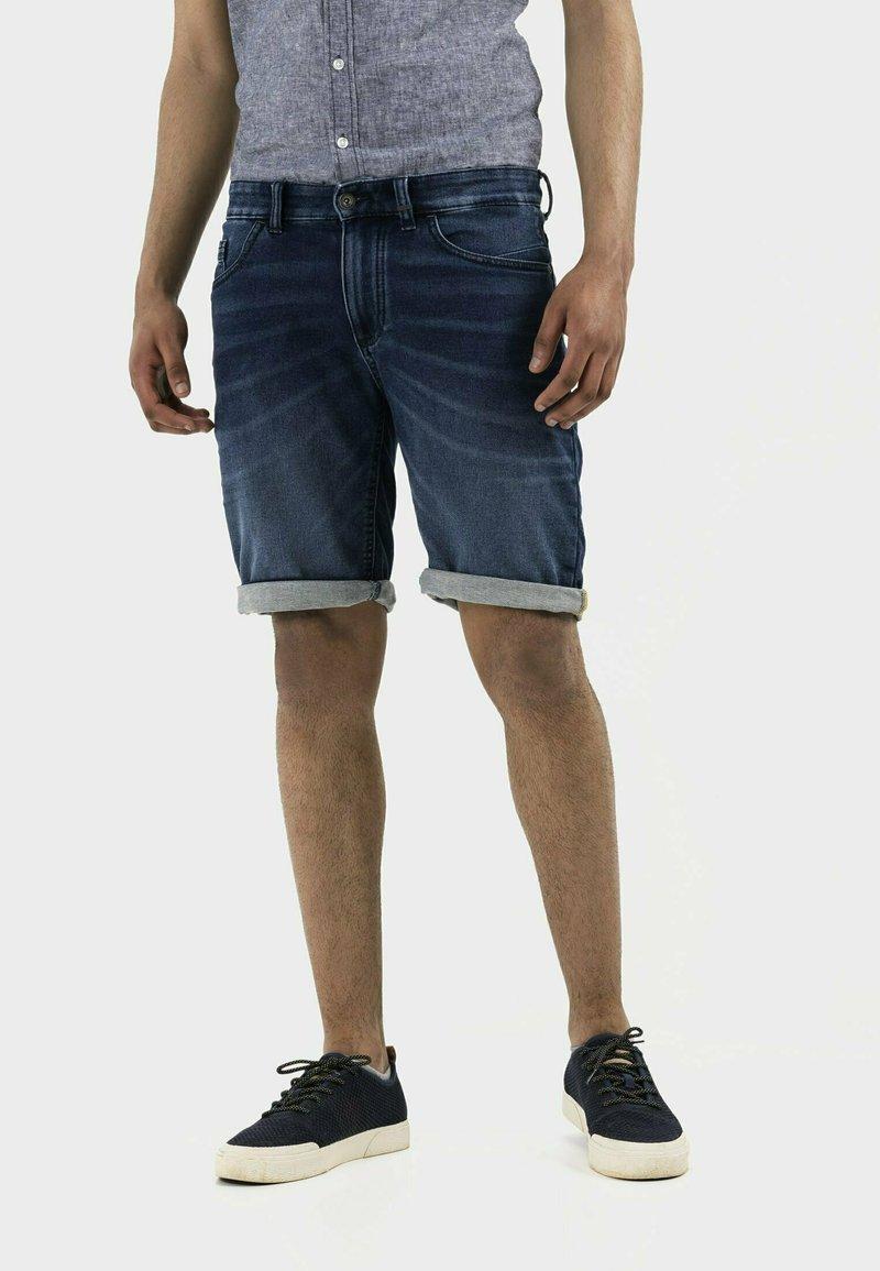 camel active - Denim shorts - dark blue