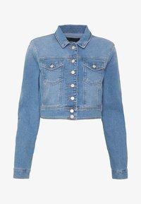 ONLY - ONLNEW WESTA CROPPED JACKET - Denim jacket - light blue denim - 6