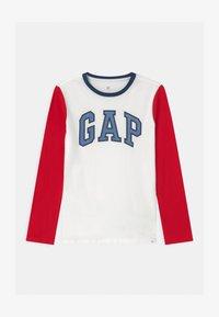 GAP - BOY LOGO  - Langarmshirt - off white - 0